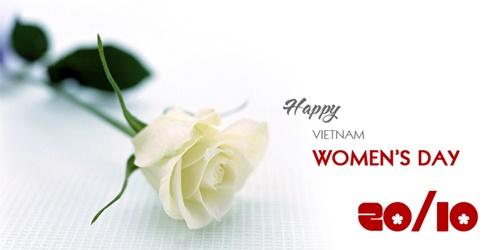Lời chúc ngày phụ nữ Việt Nam 20-10-2016 hay ý nghĩa nhất 1