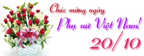 Lời chúc ngày phụ nữ Việt Nam 20-10-2016 hay ý nghĩa nhất 16