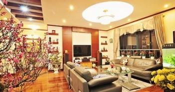 Cách trang trí phòng khách ngày tết đẹp hợp phong thủy chào đón năm mới 2017 đinh dậu 14